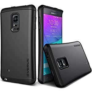 Galaxy Note Edge Case, Verus [Heavy Drop Protection] Samsung Galaxy Note Edge Case [Thor Series][Charcoal Black] Extra Slim Fit Dual Layer Hard Case - Verizon, AT&T, Sprint, T-Mobile, International, and Unlocked - Case for Samsung Galaxy Note Edge SM-N915S 2015 Model