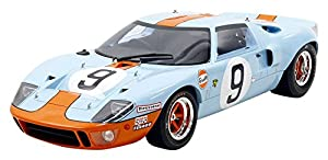 CMR-GT 40MK I Gulf Winner Le Mans 1968Ford vehículo en Miniatura, cmr12005, Azul/Rojo, Escala 1/12