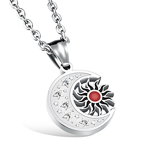 um-joyeria-hombres-mujer-zirconia-acero-inoxidable-dom-luna-colgante-collar-plata-rojo