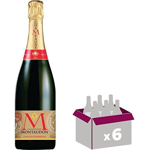 Champagne - Champagne Montaudon Cuvée A. Louis x6 - AOC Champag