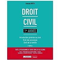 Droit civil 1re année: Introduction générale au droit - Droit des personnes - Droit de la famille (2021)