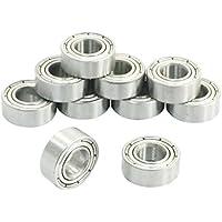 Rodamientos rigidos a bolas - SODIAL(R) 10 piezas rodamientos de bolas radiales profundos en miniatura de 6mm x 13mm x 5mm 686Z