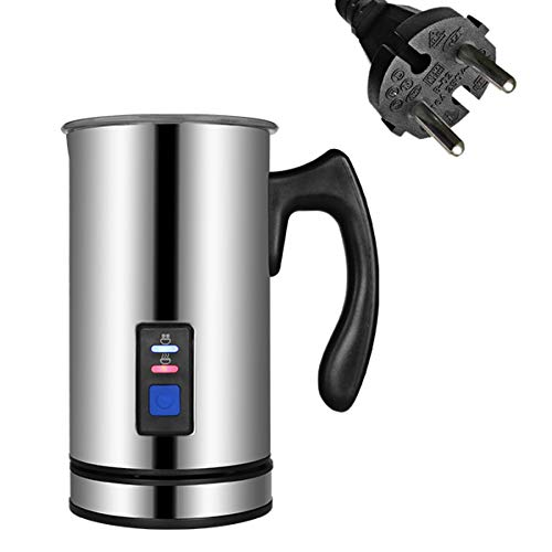 SYSWJ Cafetera Automatic Electric Milk Frother Foamer With Stainless Steel Container For Coffee Machine Hot/Cool 500W,C