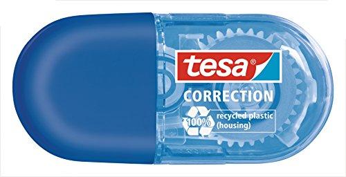 Tesa 59814-00-00 Mini Korrekturroller, blau