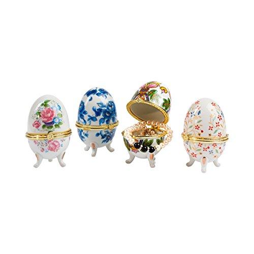 Porzellan-Geschenk-Eier, 4 Stück Porzellan Serveware