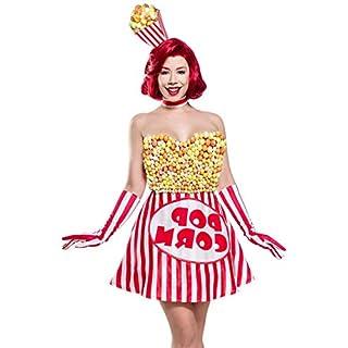 Süßes Popcorn Girl 80142 - ausgefallene Kostüme von Mask Paradise L