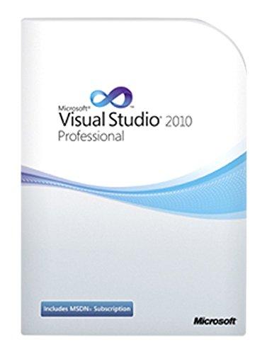 Schulversion Microsoft Visual Studio Professional 2010 - Berechtigungsnachweis erforderlich Visual Studio 2010 Software