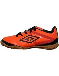 Umbro 80924U-Dk9 - Zapatillas para niño, color naranja fluor / negro / blanco, talla 34