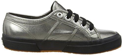 Superga 2750 Cotmetu, Casual femme - Rose, EU Gris - Grey (Grey Black)
