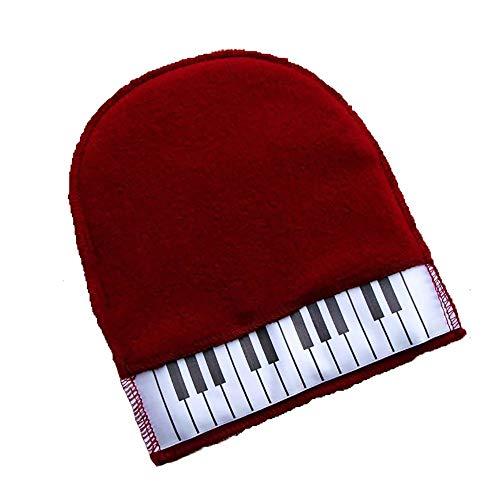 Samtkaschmirhandschuhe Klavierstaubverglasung Wachsen von weichen Fusseln schadet der Klavierfarbe Nicht 15,5 * 20