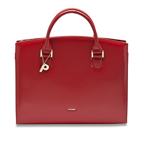 Picard Damen Berlin Shopper, 36 x 30 x 11 cm rot