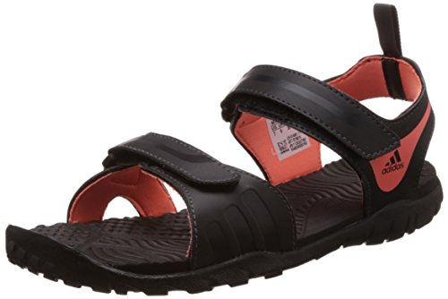 adidas Women's Escape 2.0 W Black and Peach Color & Sandals and Floaters - 5 UK  available at amazon for Rs.1649