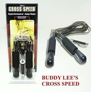 Buddy lee'cross jump s speed rope corde à sauter de vitesse noir