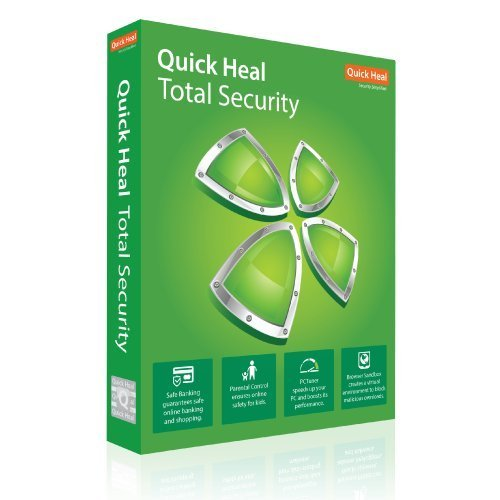 Quick Heal Premium Quality Total Security Latest Version - 2 PCs, 3 Years