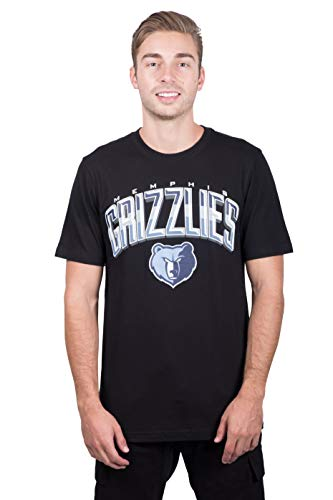 UNK NBA Herren T-Shirt Arched Plexi Short Sleeve Tee Shirt Schwarz, Herren, Arched Plexi Short Sleeve Tee Shirt, schwarz, Large