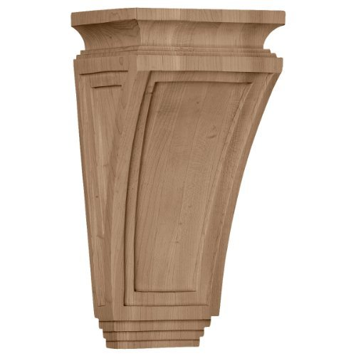 Arts Crafts Corbel (Ekena Millwork COR06X04X12ARMA 6-Inch W x 4 3/4-Inch D x 12-Inch H Arts and Crafts Corbel, Maple by Ekena Millwork)