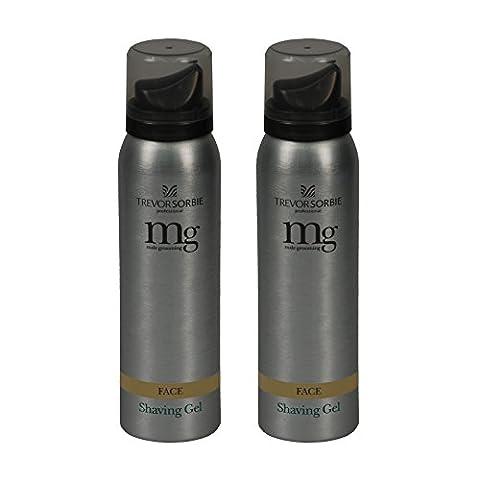 Trevor Sorbie® Male Grooming Shaving Gel (75ml x 2) Set of 2