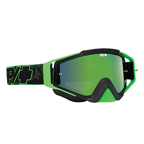 Spy Mx Goggles Omen Highlighter/Smoke w/Green Spectra Clear, One Size