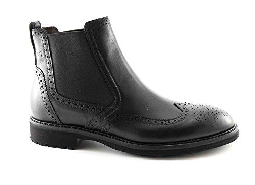 BLACK JARDINS bottes 4414 homme noir chaussures en cuir beatles Anglais Nero