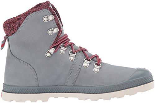 Palladium Damen Pallabrouse Hikr Lp Combat Boots Grau (082)