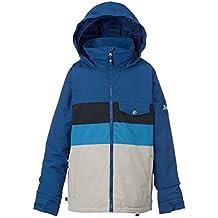 Burton Symbol Jacket–Cazadora de snowboard, otoño/invierno, niño, color Boro Block, tamaño XL