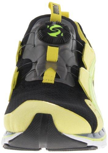Puma Disc Ltwt 2.0 Mode Sneaker Black / Fluorescent Yellow