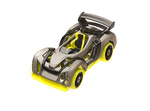 Modarri T1 Track Build Your Car Kit Toy Set - Ultimate Toy Car: Make Your Own Car Toy - For Thousands of Designs - Real Steering and Suspension - Educational Take Apart Toy Vehicle
