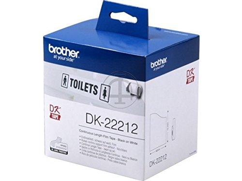 Preisvergleich Produktbild Brother original - Brother P-Touch QL 720 NW (DK-22212) - P-Touch Etiketten - 62mm x 15,24m