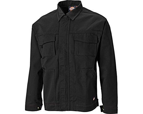 Dickies Industry 300 Bundjacke, robuste Arbeitsjacke mit Sturmleiste, inkl. Schlüsselkarabiner, viele Taschen, Dehnfalte im Rücken, Größe: S - XXXL, verschiedene Farben -