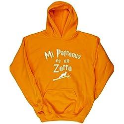 HippoWarehouse Mi Patronus es un Zorro jersey sudadera con capucha suéter derportiva unisex niños niñas