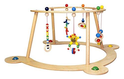 Hess-Spielzeug 13333 - Babyspiel und Lauflerngerät (Gym Baby)
