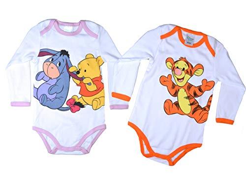 2 Disney Baby Bodys gemischt Langarm Gr. 62/68 Baby mädchen Kleidung Baby Kleidung Wickelbodys Langarm Baby Erstausstattung Junge Baby Erstausstattung mädchen