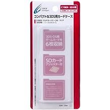 CYBER・マルチカードケース6 (3DS用) クリア