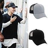 Concepteur Nouvelle Casquette de Base - Ball de Style de Justin Bieber est réglable ha