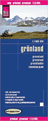 Reise Know-How Landkarte Grönland (1:1.900.000): world mapping project