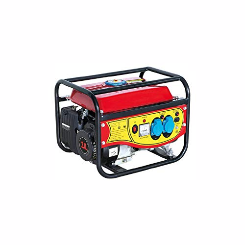 QWERTOUY 1000w generador de Gasolina pequeño doméstico Equipo portátil de generación de...