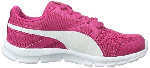 Puma Unisex-Kinder Flexracer Ps Low-Top Pink (Beetroot Purple-puma White 02)