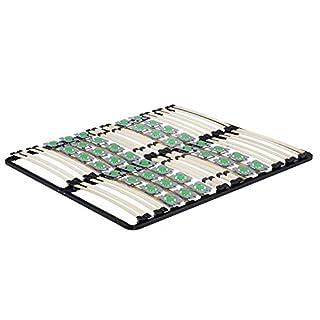 MOG Lattenrost 160x200 cm Lattenrahmen Tellerlattenrost Ergo IF55 - für alle Matratzen geeignet - alle Größen
