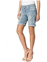 3fd6fe46453e Fresh Made Boyfriend Jeans I Jeans-Shorts Used Look für Damen - Top  Qualität Dank