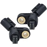 ECD Germany RS001 + RS002 2 x Sensor de velocidad ABS delantero izquierdo + derecho