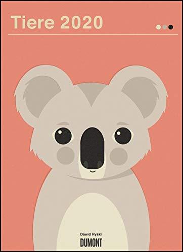Dawid Ryski: Tiere 2020 – Kinder-Kalender – Poster-Format 49,5 x 68,5 cm