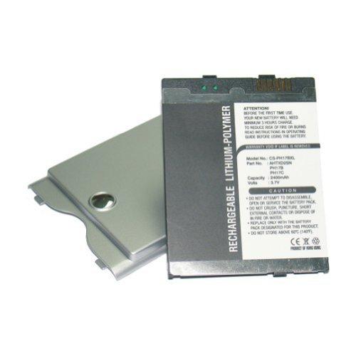 Bluetrade Batterie doppelte Kapazität (2400mAh) für QTek 2020, SPV M1000, HTC P6300