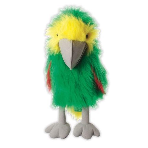 The Puppet Company Großer Vogel Amazon Grün Handpuppe Spielzeug