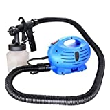 #8: Ever Mall Paint Zoom Diy Electric 3 Way Spray Gun System Painting Indoor Outdoor