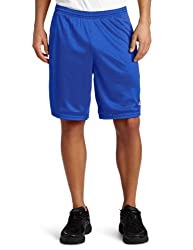Champion Mens Long Mesh Short With Pockets, Team Blue, Large