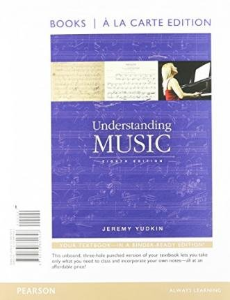 [(Understanding Music, Books a la Carte Edition Plus New Mymusiclab for Music Appreciation -- Access Card Package)] [Author: Jeremy Yudkin] published on (January, 2015)