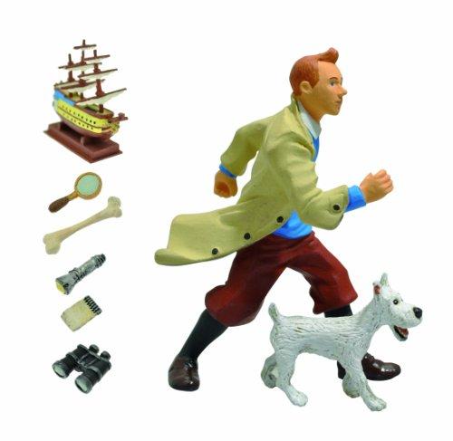 Plastoy 60870 - Figuras de Tintín y Milú 2