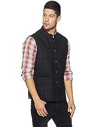 Colorplus Men's Peak Lapel Regular Fit Blazer