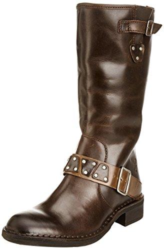 Fly London Fina, Boots femme Marron - Braun (Dark Brown / Camel 001)
