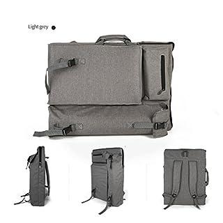 Art Tasche 4K Zeichnen Bag Wasserdichte Tragbare Kunst Rucksack Oxford Art Supplies Zeichnungen ART minimalistische grau